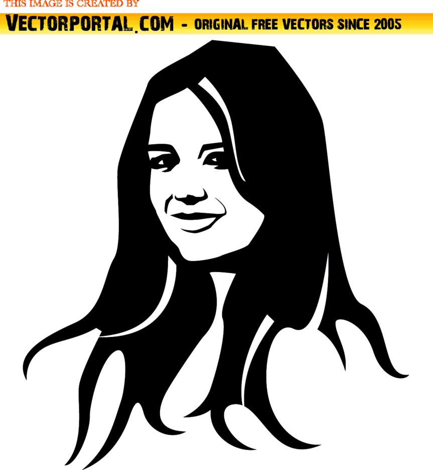 Katie Holmes Portrait
