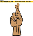 Good Luck Hand Gesture