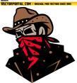 Cowboy With Bandana
