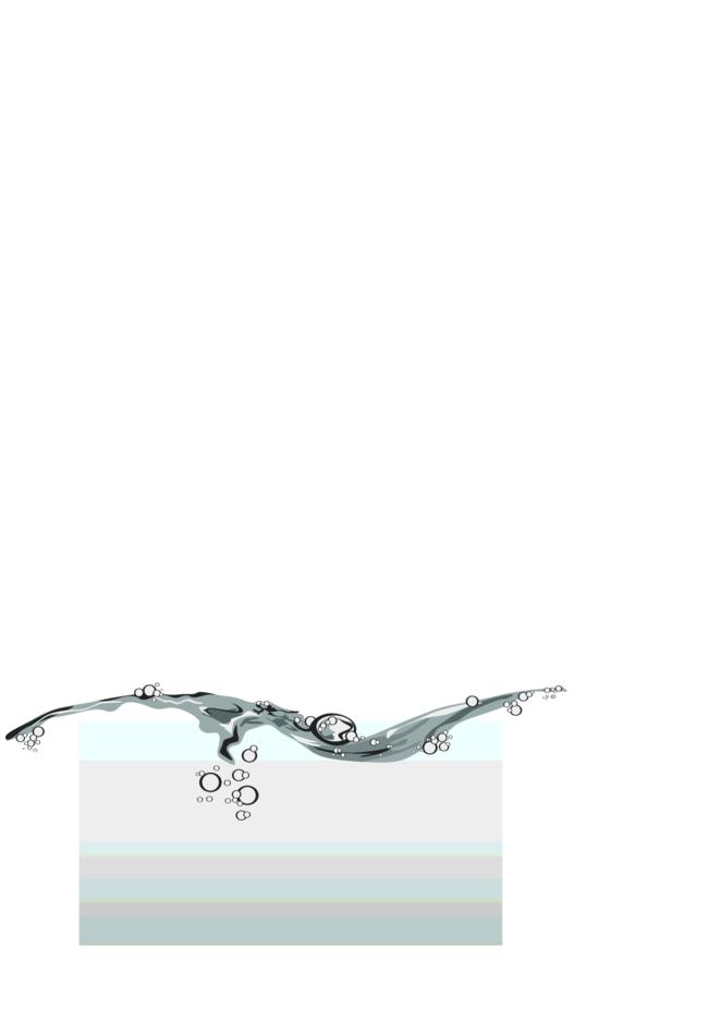 Water Splash On Grey