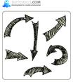 Doodle Arrows Set 1