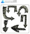Doodle Arrow 2