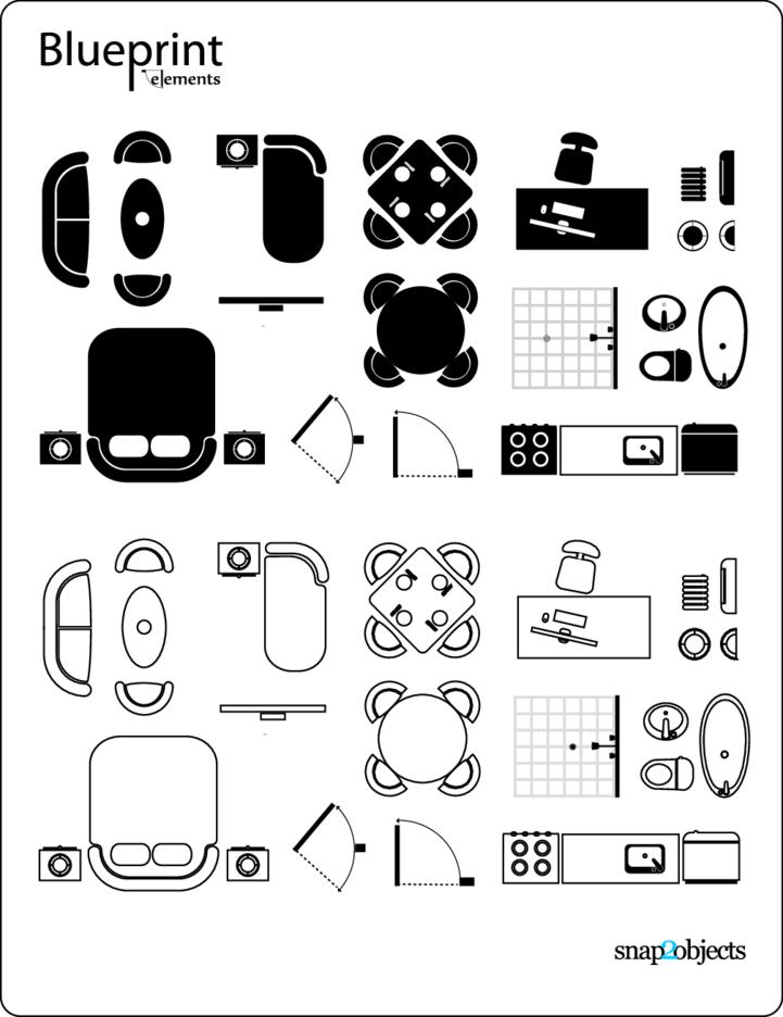 Blueprint Vector Elements
