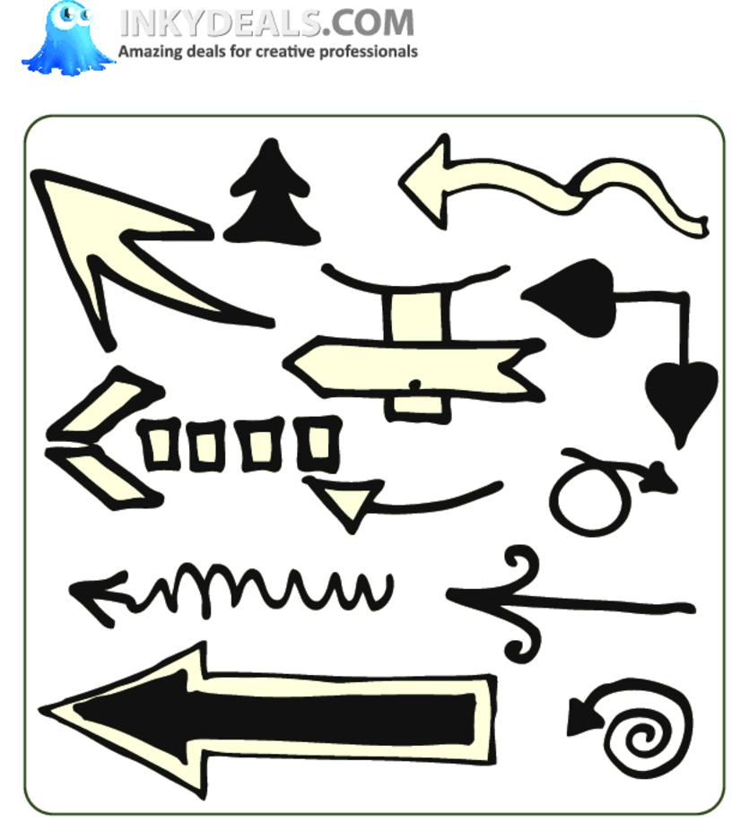 Doodle Arrows 4