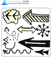 Doodle Arrows 5