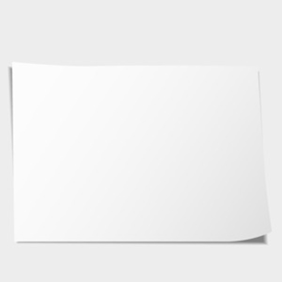 Free Vector Of The Day #66: Blank Paper Sheet