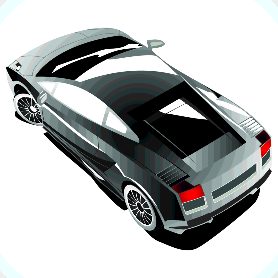 Lamborghini Gallardo Top View Freevectors