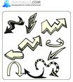 Doodle Arrows 6