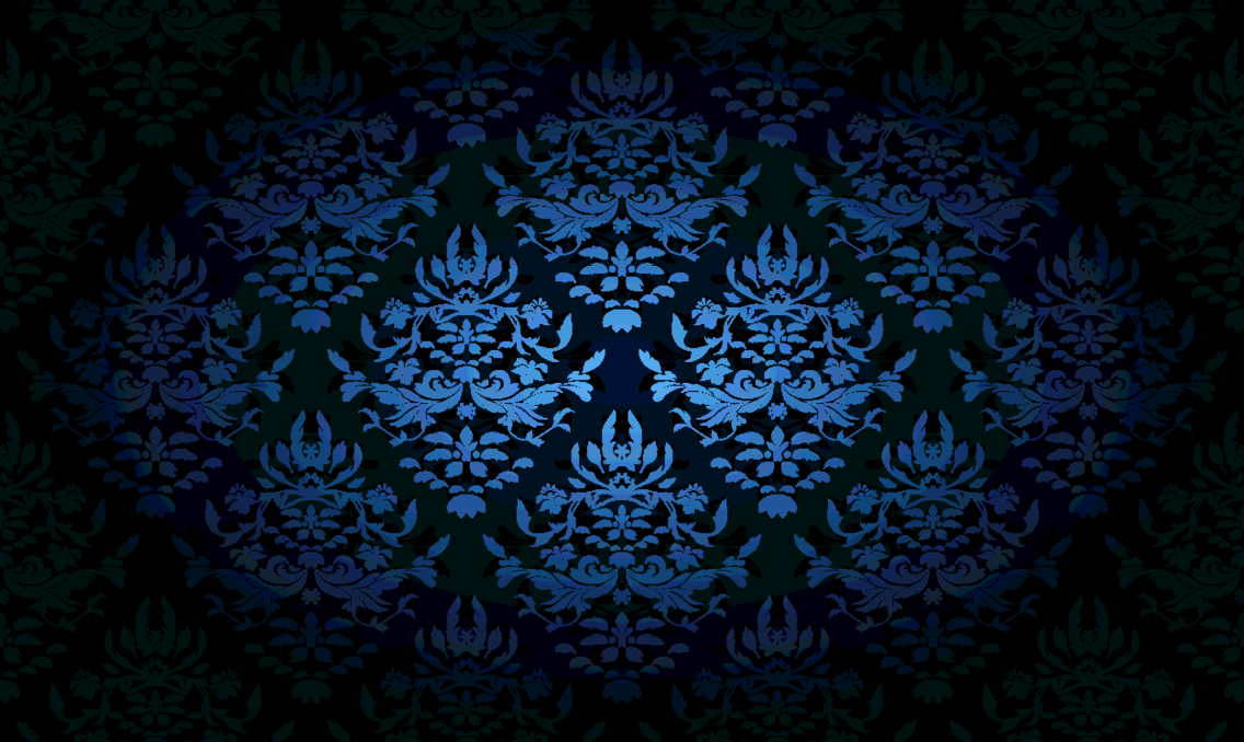Ornaments In Dark Blue