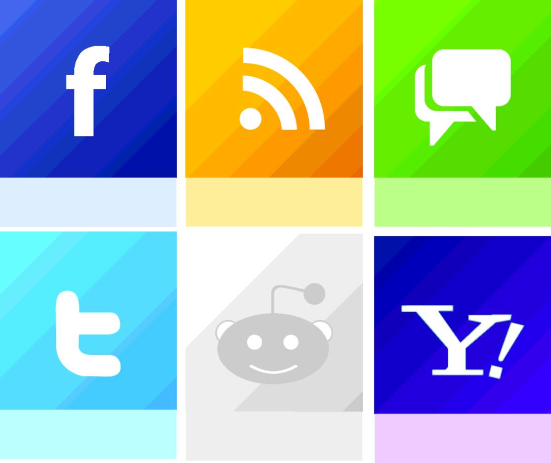Free Vector Social Media Icon