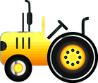 Free Vector Tractor Icon