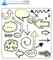 Doodle Arrows 8