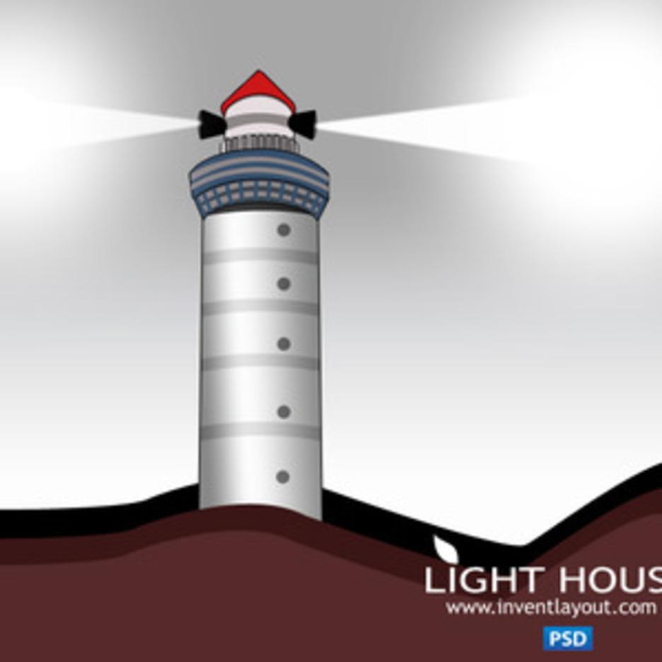 Lighthouse PSD