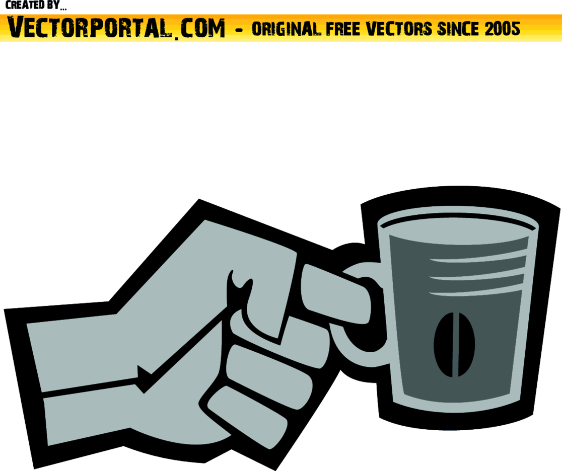 Hand Holding A Cup