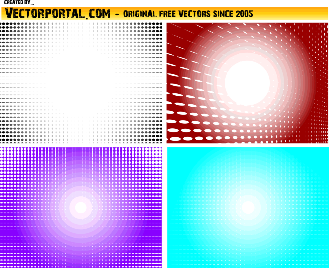 Halftone Vector Pack