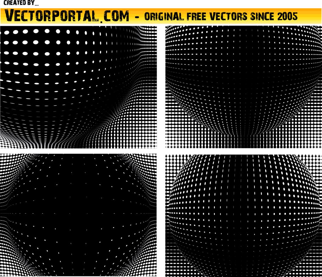 Halftone Artwork Vector