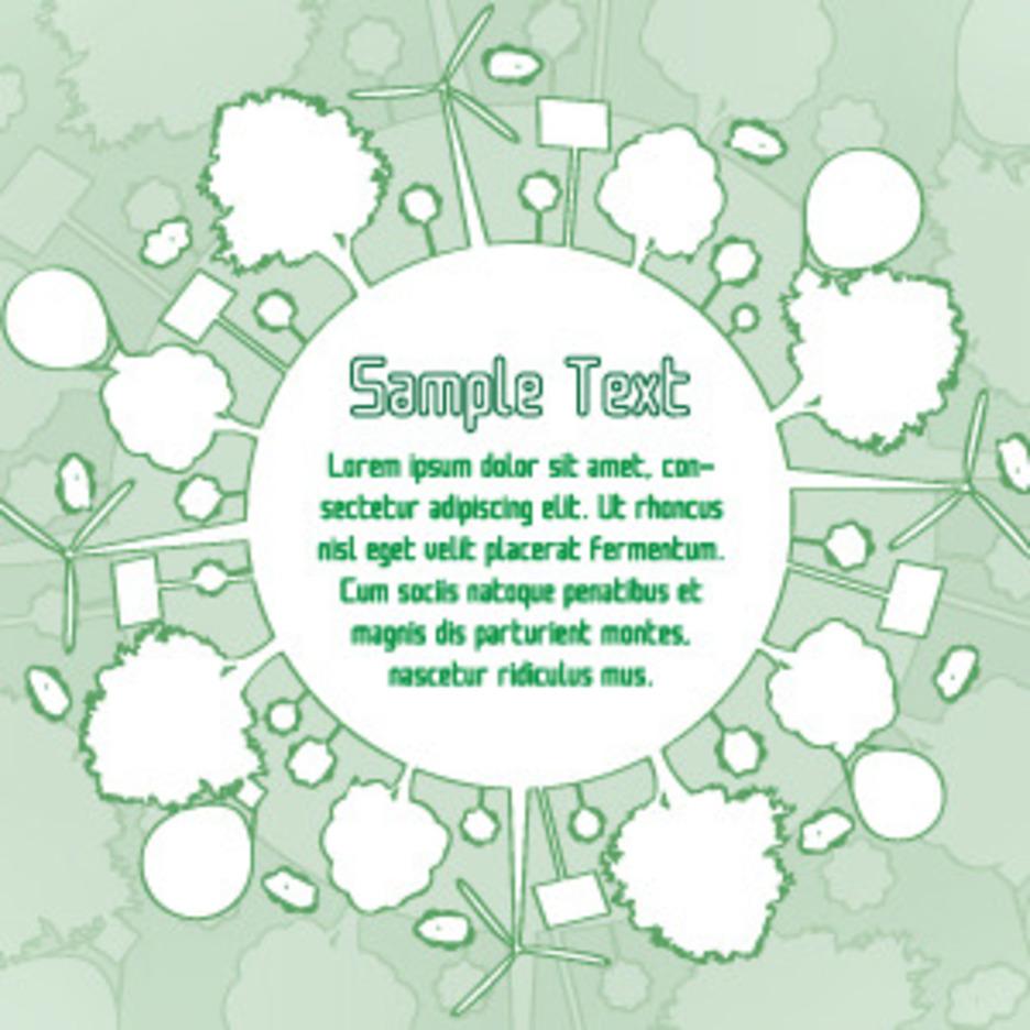 Eco Green Banner Design