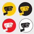 Free Vector Of The Day #83: Surveillance Cameras