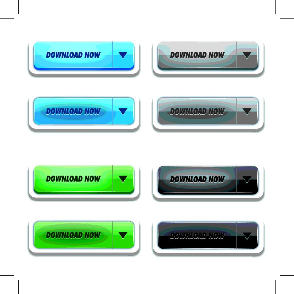 Vector Download Buttons