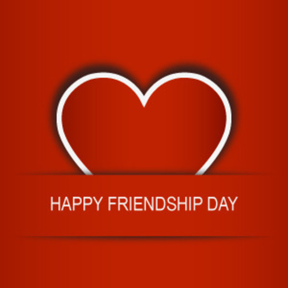 Friendship Day Heart