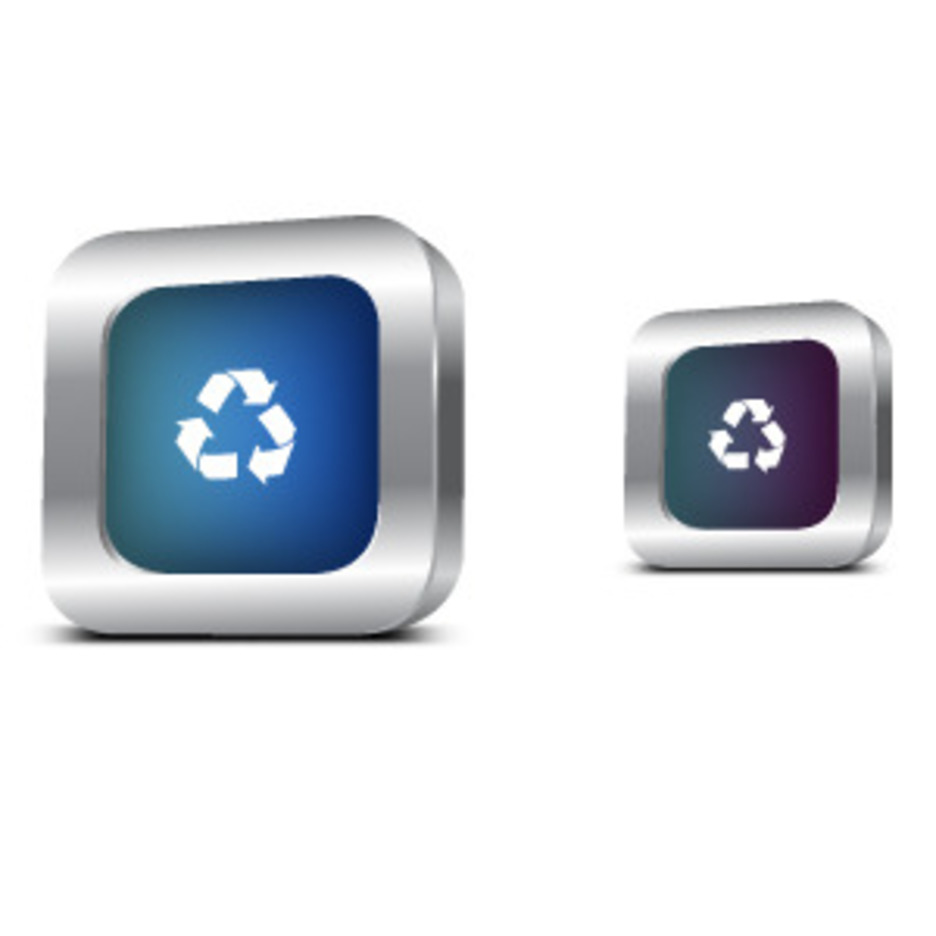 Recycle Metal Icon