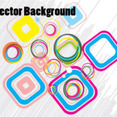 Multy Colored Design Free Vector Background