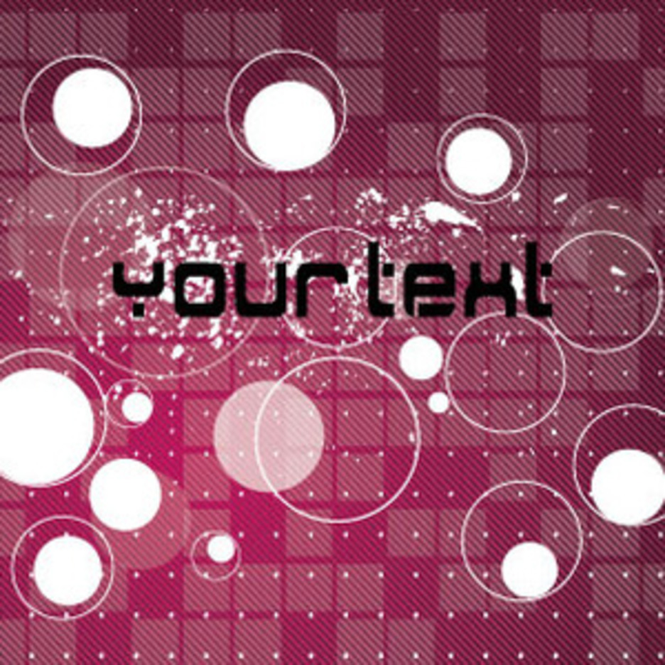 Your Text Abstract Free Vector