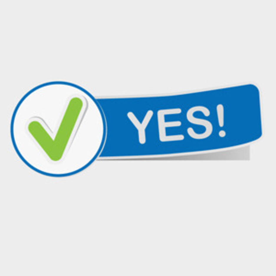 Free Vector Of The Day #106: Approval Sign