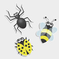 Free Vector Of The Day #111: Bug Icons