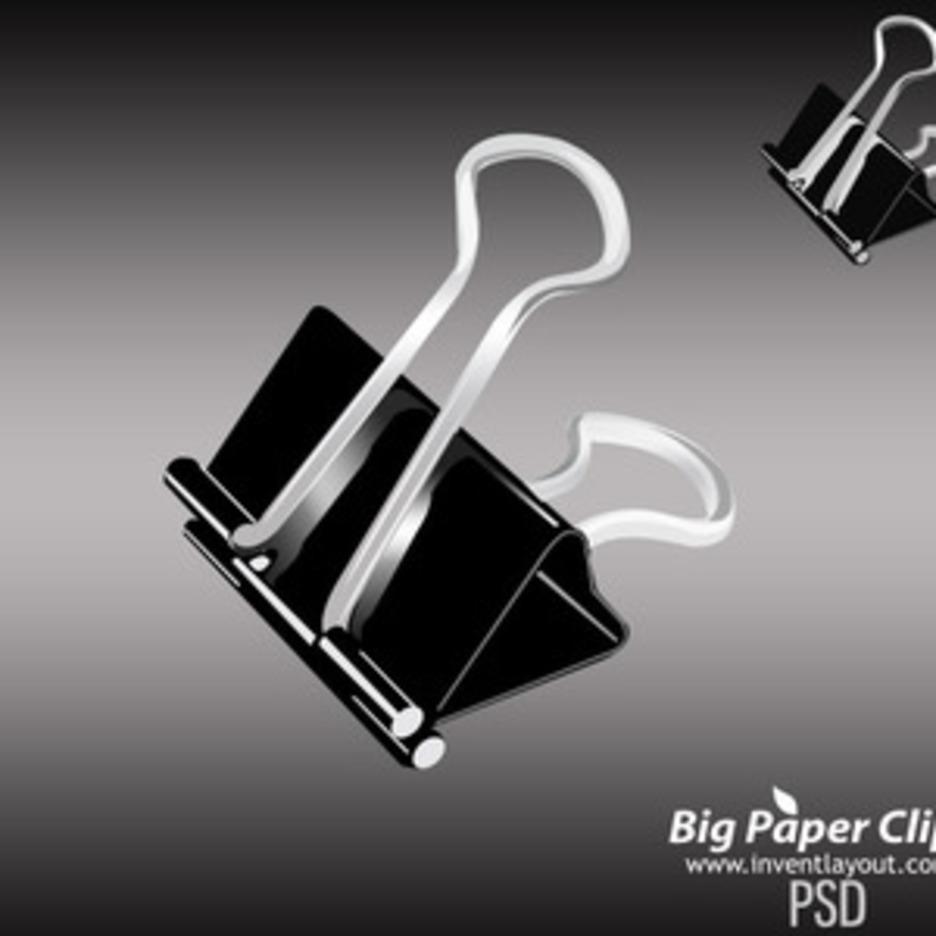 Big Paper Clip Psd
