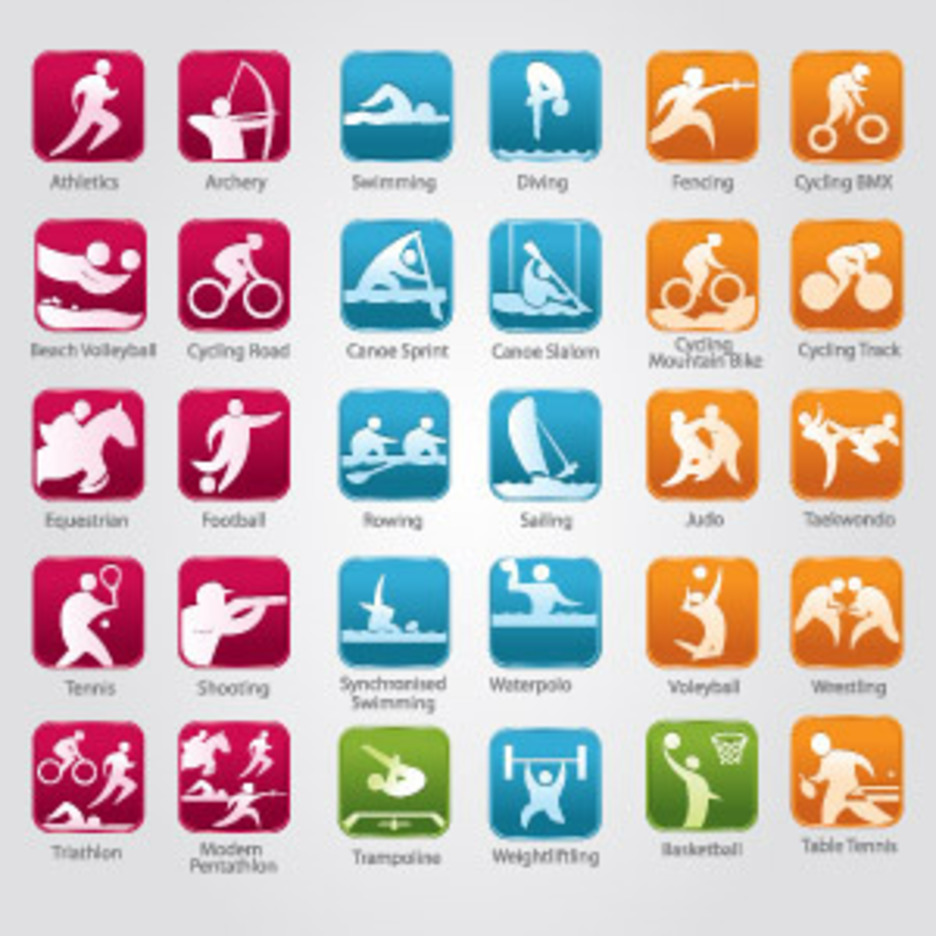 Olympic Sports Icons Freevectors