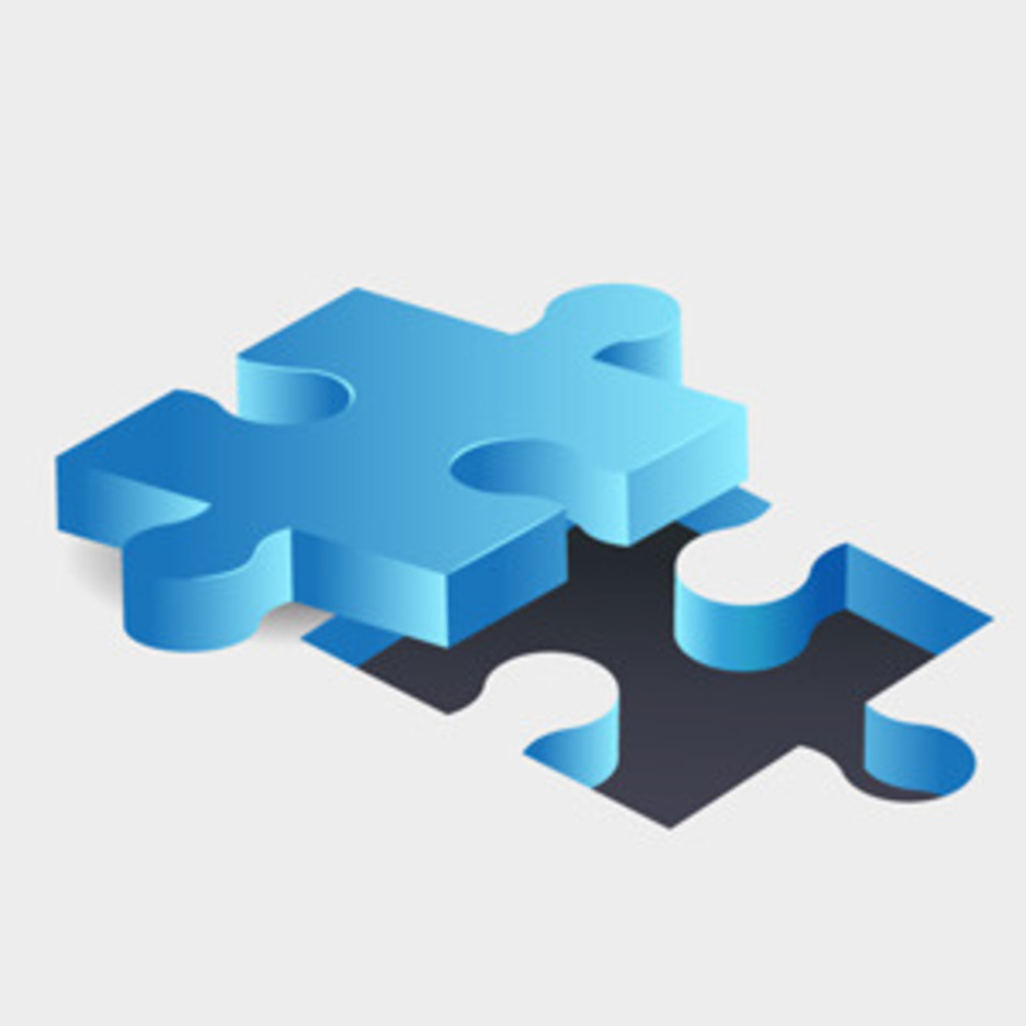 Free Vector Of The Day #136: Jigsaw Puzzle Pieces