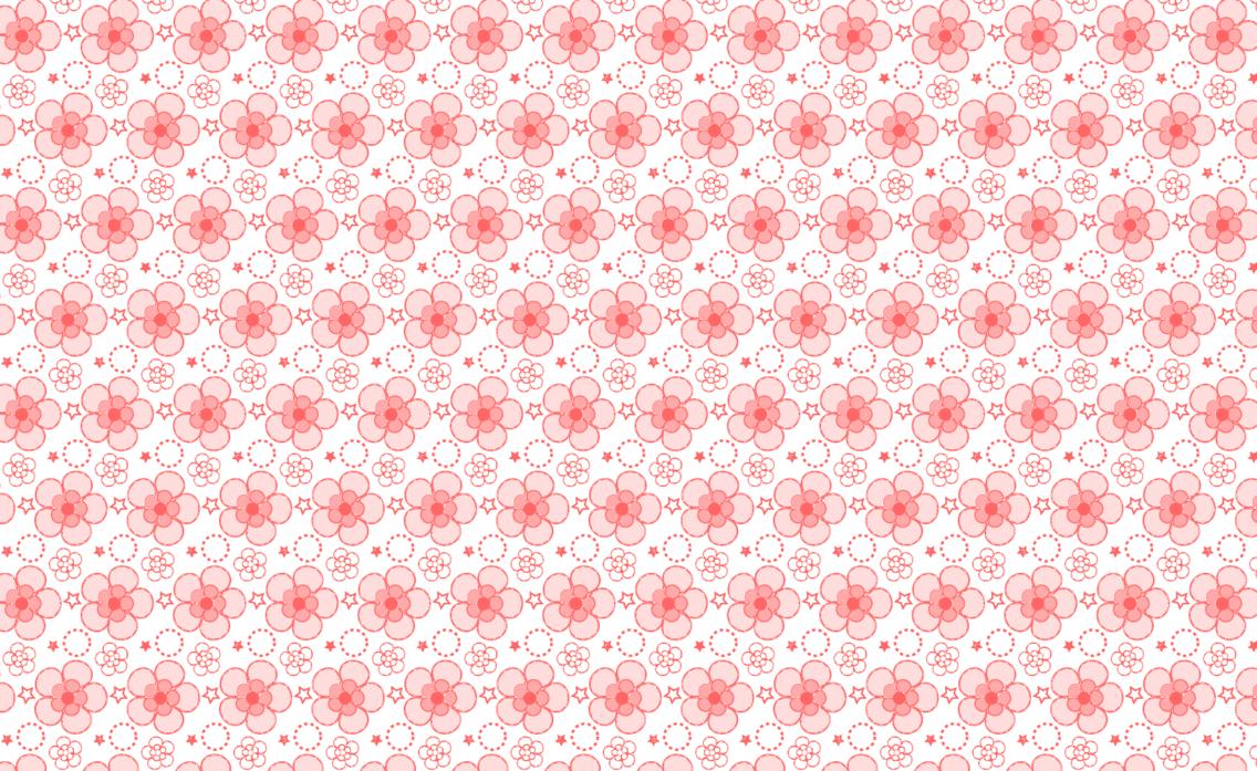 Transparent Free Seamless Petal Vector Pattern
