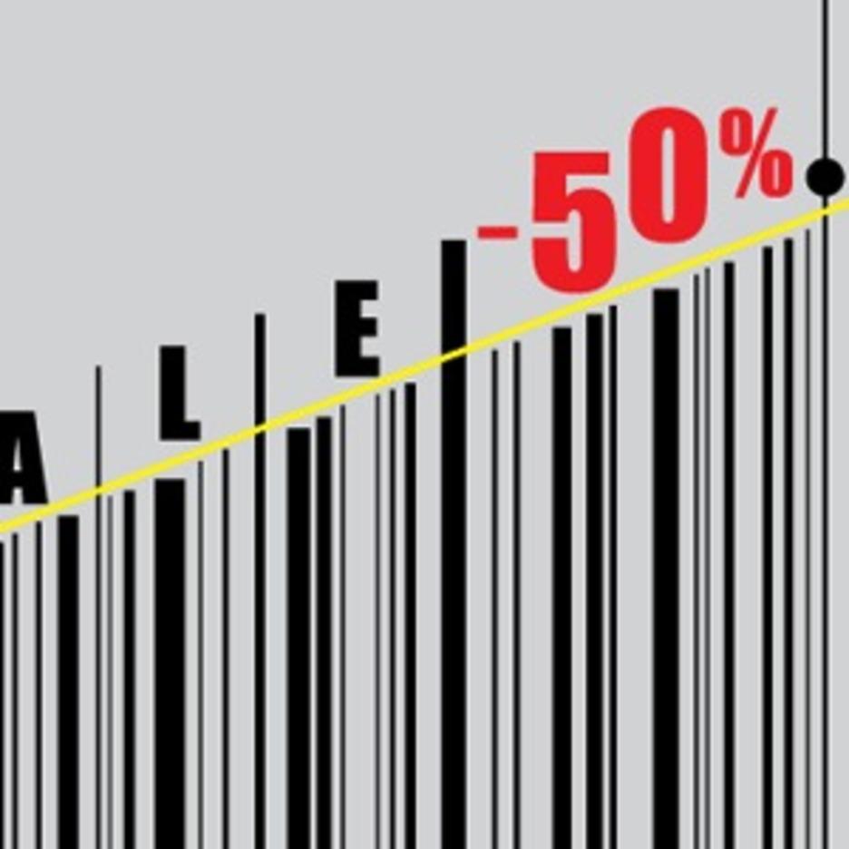 Barcode Sales Vector