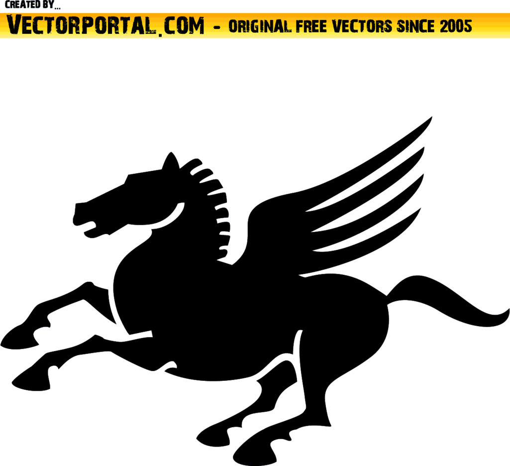 Hippogriff Vector Illustration