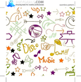 Doodle Seamless Pattern 215