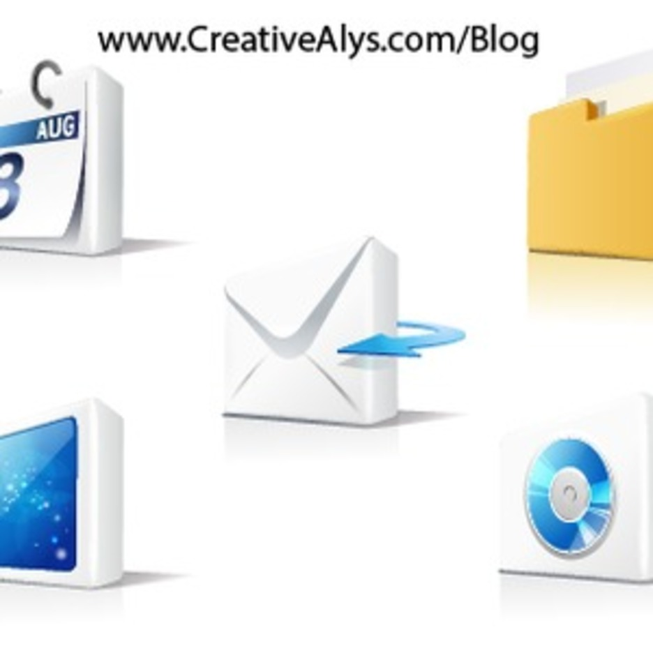 Creative 3D Icons