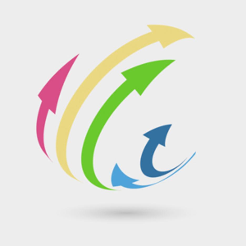 Free Vector Of The Day #148: 3D Arrows Logo Concept