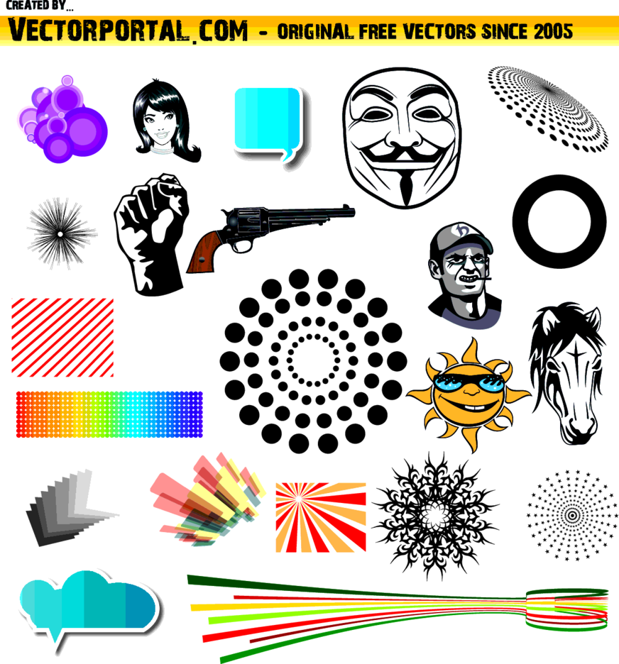 Free Vector Collection Vol. 2