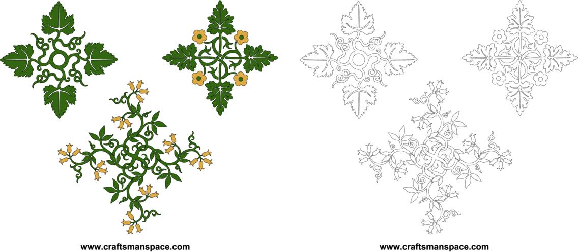 Floral Ornamental Designs