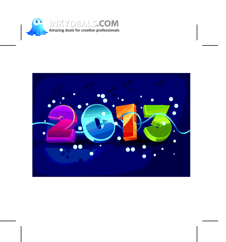 Happy New Year 2013 Illustration 1