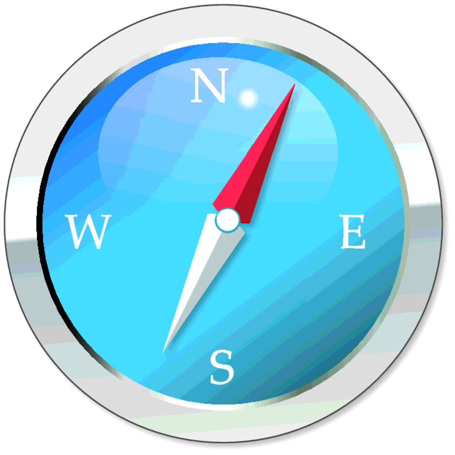 Free Vector Compass Icon