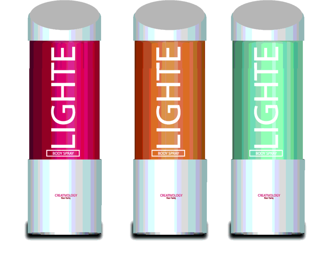Free Vector Light Body Spray