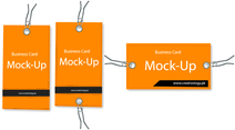 Free Vector Business Card Mockup
