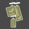 Free Vector Of The Day #152: Eco Tags