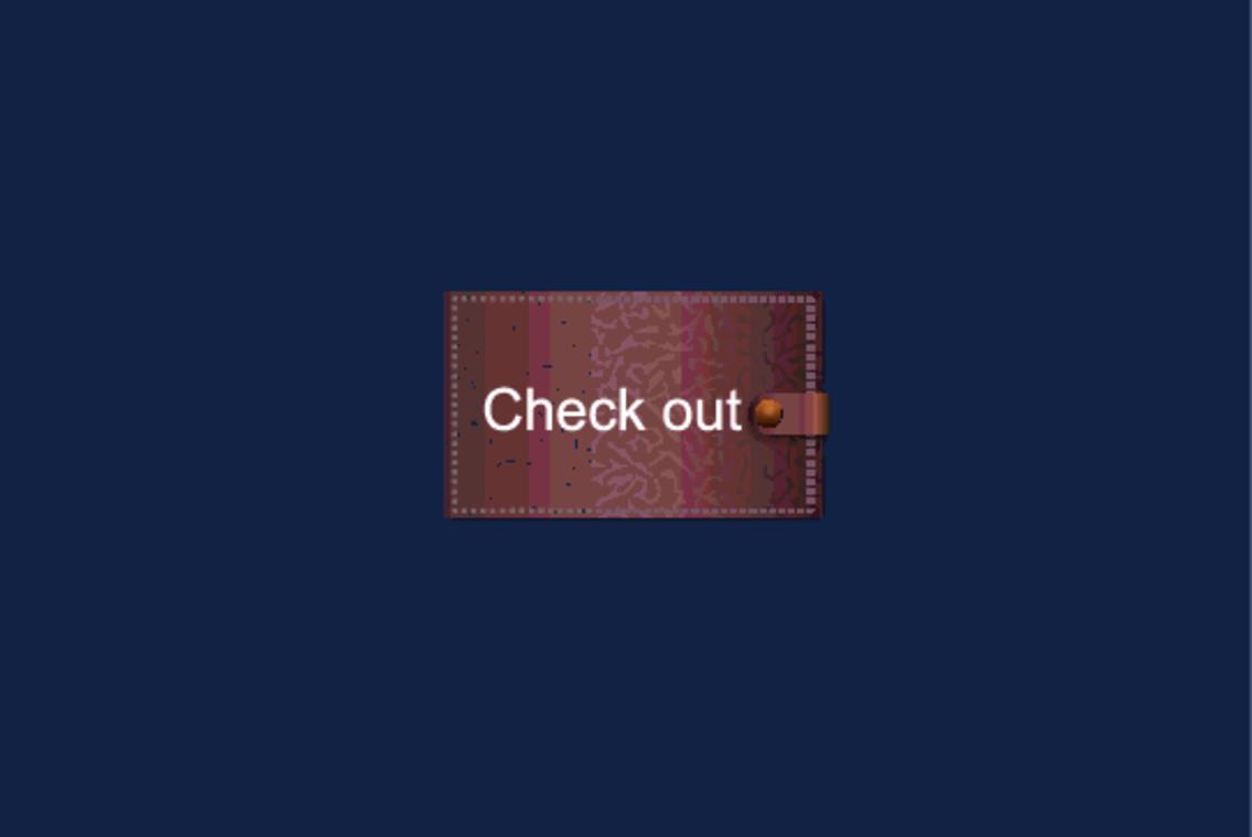 Free Vector Checkout Button