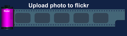 Free Vector Flickr Photo Upload Button