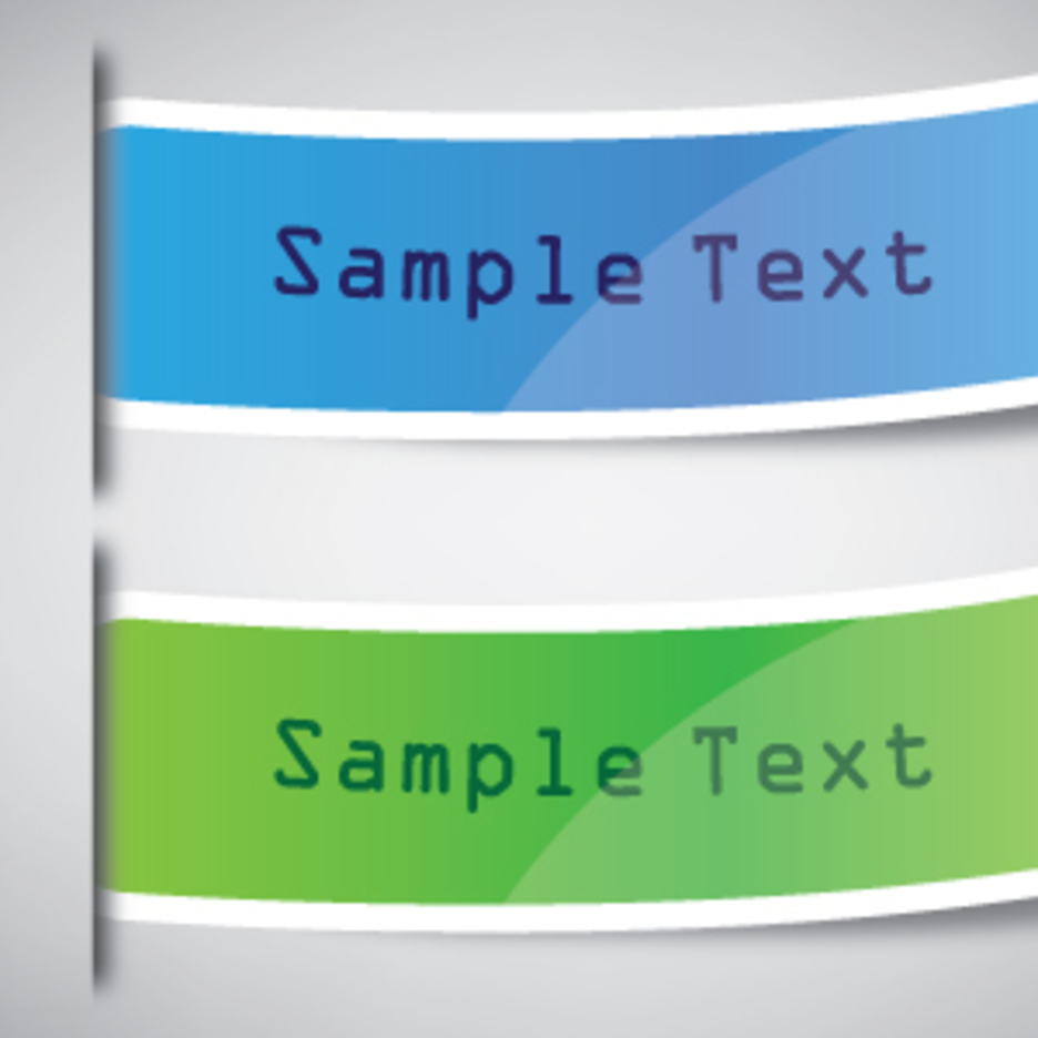 Web Sticker Elements