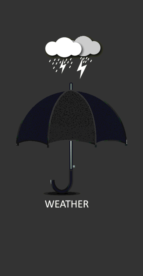 Free Vector Weather T-shirt Design