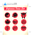 Japanese Vector Icons 6